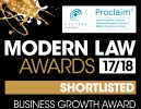 Business Growth Shortlist